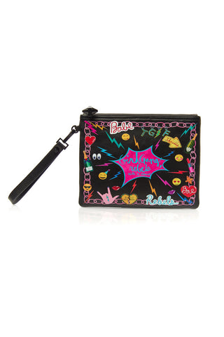 Paloma Pouch - Girl Gang in Black