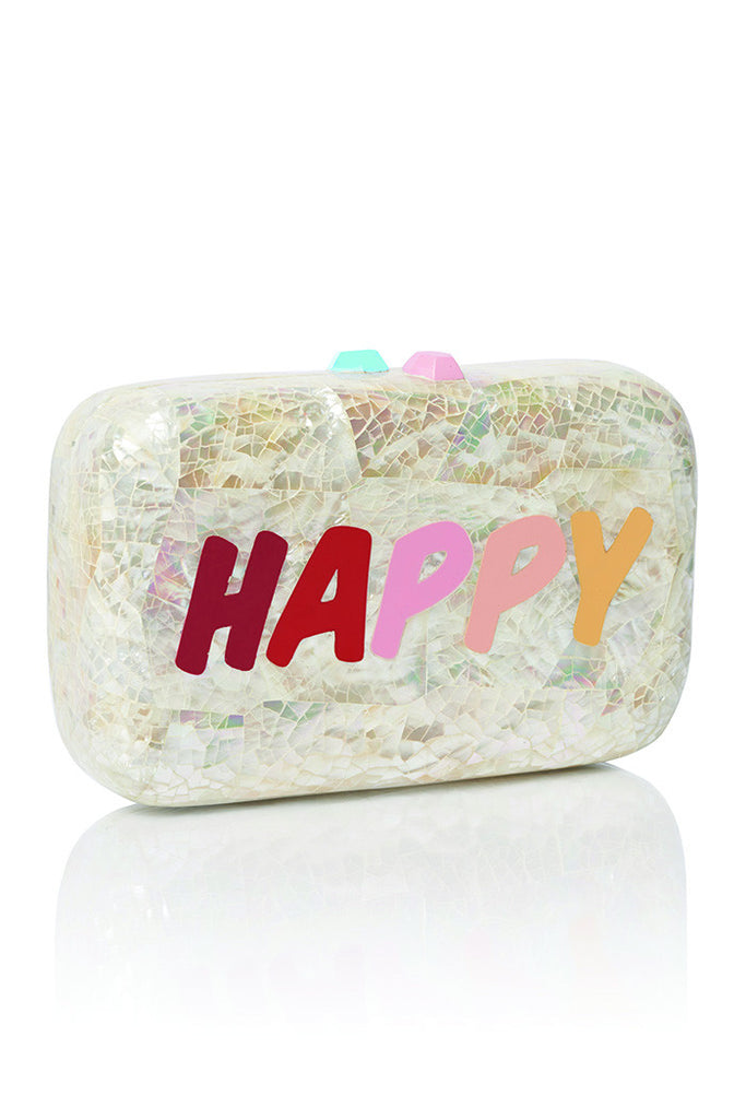 Collins - Happy/Smile Clutch