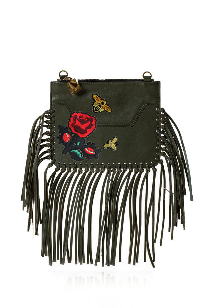 Custom Majorelle Olive Fringe-OPTION ONE