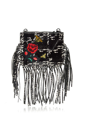 Majorelle Snakeskin Fringe-OPTION ONE