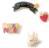 PUNK POWERY NOVELTY PINS