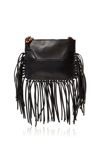 Custom Majorelle Black Fringe-OPTION TWO