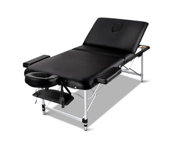 3 Fold Portable Aluminium Massage Table