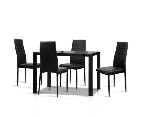 5-Piece Dining Table and Chairs Set