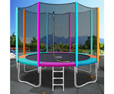 Trampoline with Enclosed Safety Net