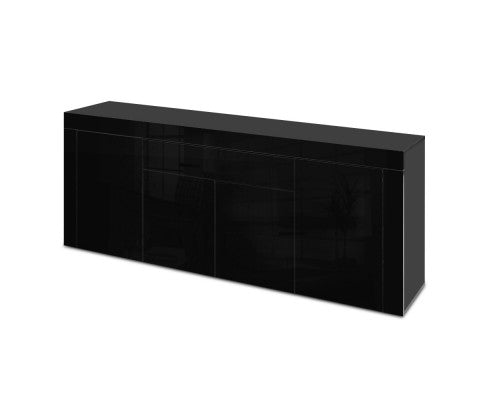 Sideboard Buffet Storage Cabinet with 4 Doors