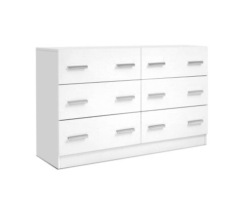6 Chest of Drawers Cabinet