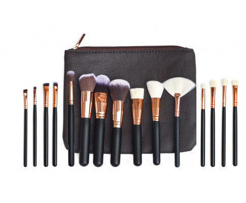 Pro Face Powder Makeup Brushes Set