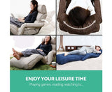 Adjustable Lounger with Arms