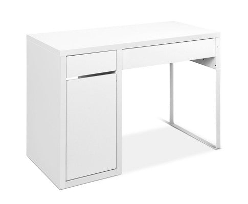 Metal Desk With Storage Cabinets