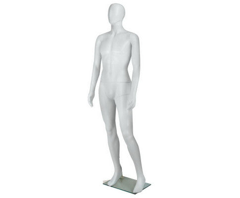 Full Body Male Mannequin - White