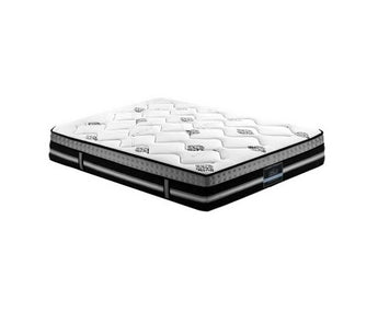 Queen Size Mattress Bed 7 Zone Pocket Spring Cool Gel Foam Medium Firm