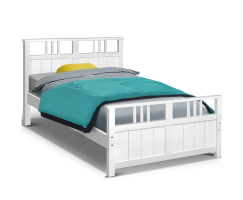 Wooden Bed Frame Timber Single Size