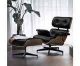 Eames Replica Lounge Chair and Ottoman Recliner