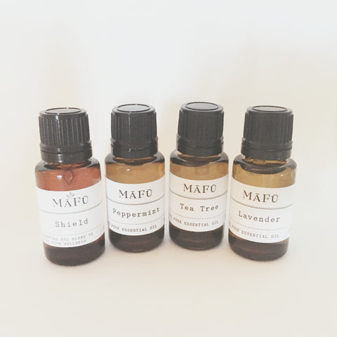 """Favorite Four"" Essential oils Set"