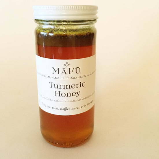 Turmeric Infused Honey
