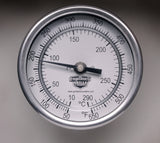 Fahrenheit-Celsius BBQ and Grill Thermometer