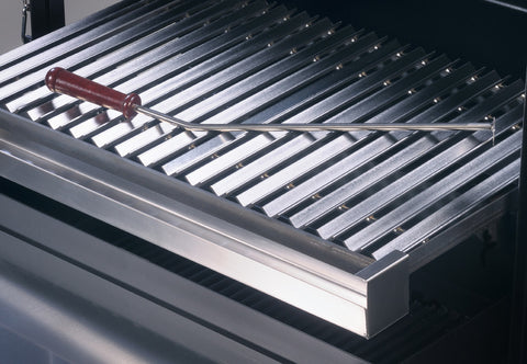 Argentine grill insert for parrilla grilling