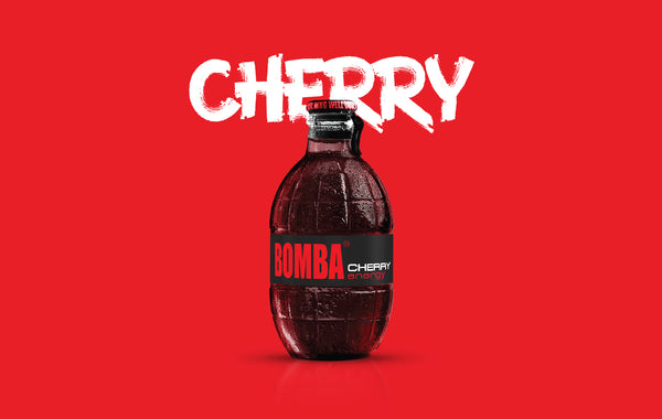 BOMBA CHERRY Energy Drink | 12 Bottiglie
