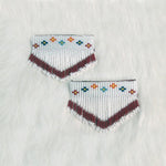 Beaded Barrettes - Small Pairs w/ Fringe