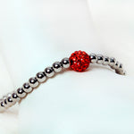 Rustic Cuff - Mini Ireland - Red