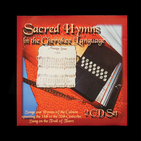 CD - Sacred Hymns in Cherokee CD (2 Disc Set)