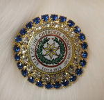 Cherokee Nation Seal Jeweled Pin