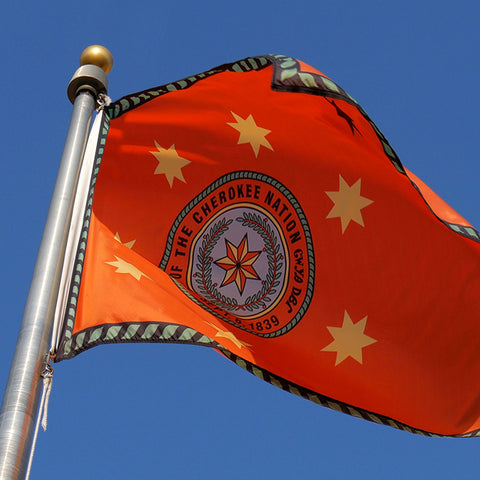 Cherokee Nation Flag