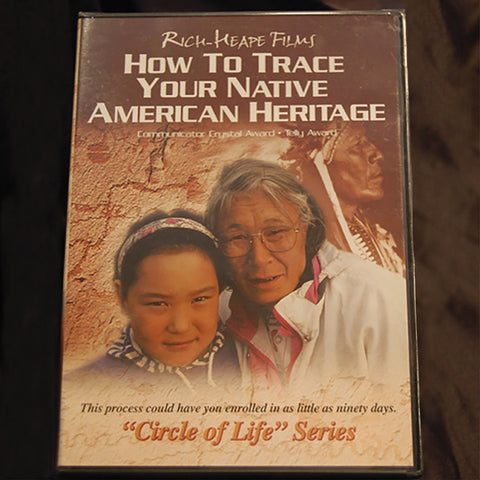 DVD - How to Trace Your Native American Heritage