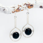 Earrings - Onyx