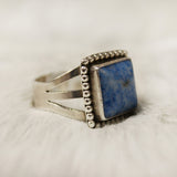 Ring - Denim Lapis - Square