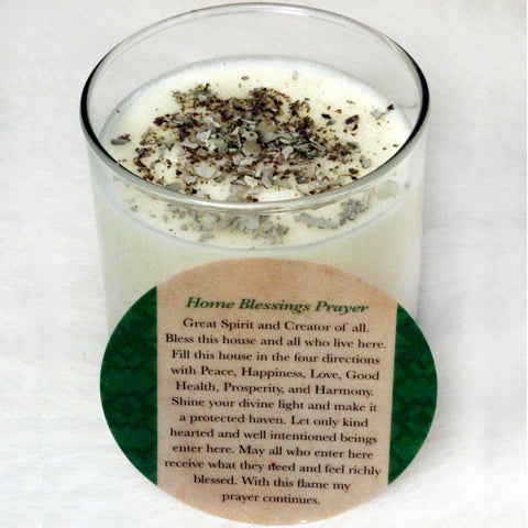 Sacred Home Candle - Home Blessing