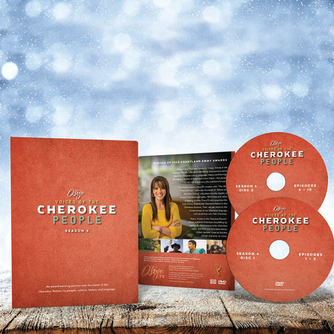 'Osiyo, Voices of the Cherokee People' Season 4 DVD Set