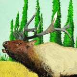 Wood Slab - Elk