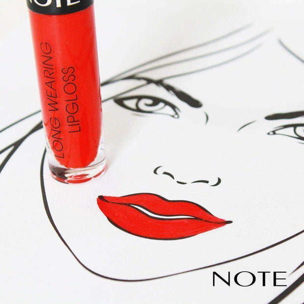 Long Wearing Lip Gloss - Note Beauty
