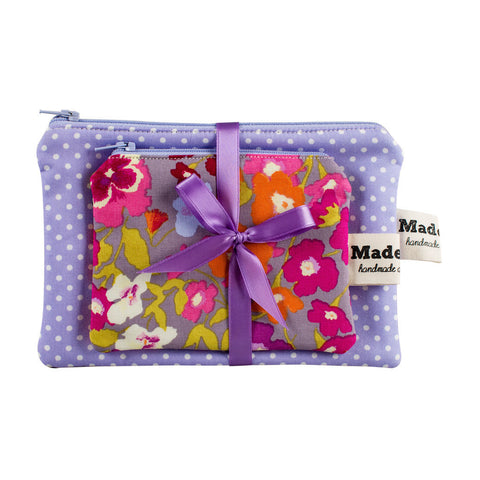 Hedgerow Floral Purse Set