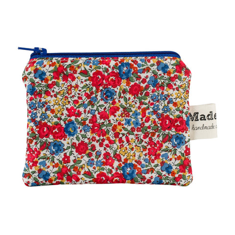 Small Red Floral Purse