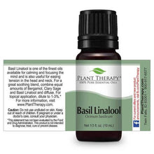 Load image into Gallery viewer, basil linalool essential oil