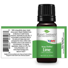 Load image into Gallery viewer, lime steam distilled essential oil