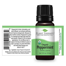 Load image into Gallery viewer, peppermint organic essential oil