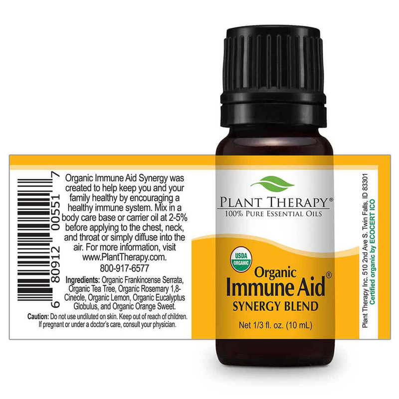 immune aid synergy organic essential oil
