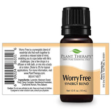 Load image into Gallery viewer, worry free synergy essential oil