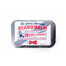 Load image into Gallery viewer, GREAT AMERICAN BEARD BALM - MADE WITH BUDWEISER
