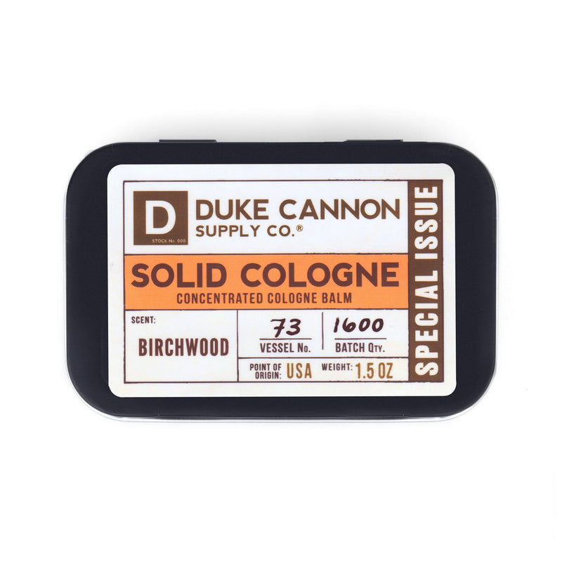 SOLID COLOGNE, SPECIAL EDITION - BIRCHWOOD
