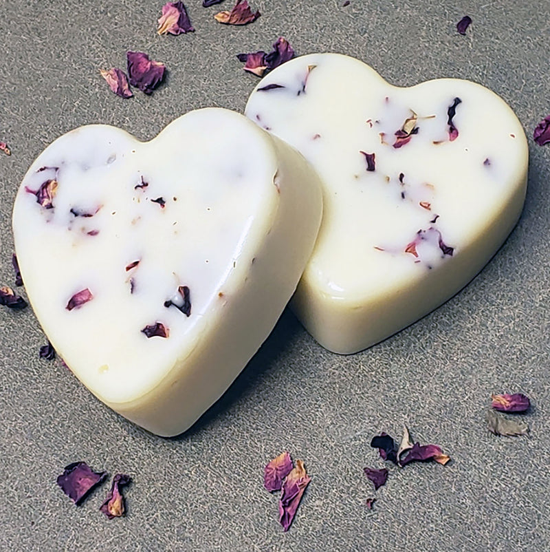 vanilla rose solid lotion bars