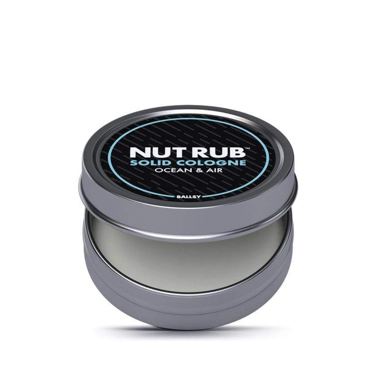 Nut Rub Solid Cologne - Ocean and Air