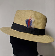 Load image into Gallery viewer, Fedora Straw Summer Hat