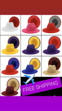 Load image into Gallery viewer, Fedora New Unisex Hats. FREE SHIPPING.