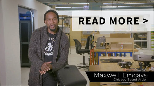 Artist Maxwell Emcay's shares his love for the LeanRite™.