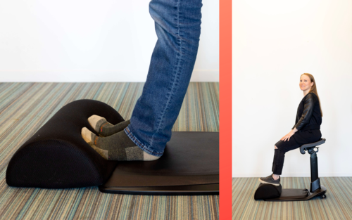 The Ergonomic Footrest: an Essential Accessory to Any Desk — Sitting, Standing, or Height-adjustable